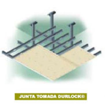 Durlock cielorrasos tabiques durlock for Imagenes de cielorrasos