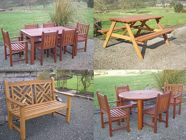 Mesas de jardin muebles de jardin for Fabrica de mesas y sillas de comedor
