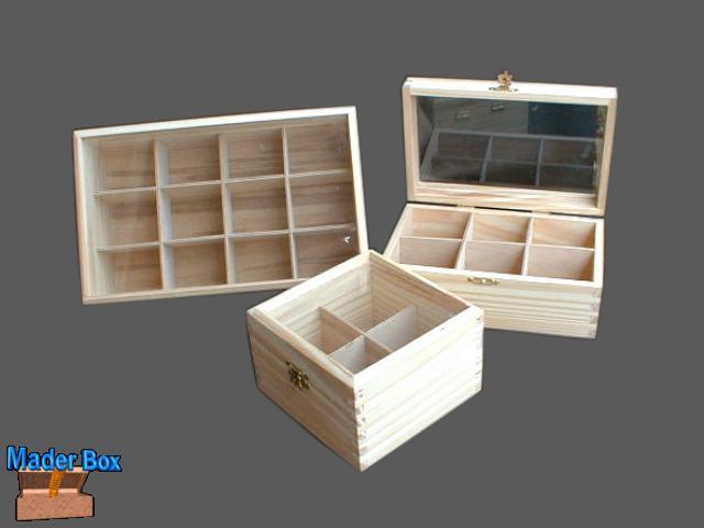 Cajas de fibrofacil - Divisiones en madera ...
