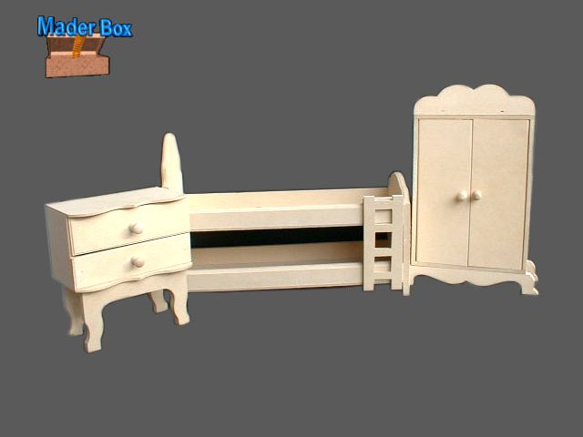 muebles para casa de muñecas en fibrofacil articulo muebles muebles