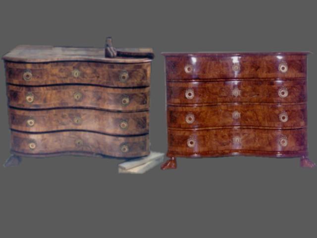 Restauracion de muebles - Como restaurar un mueble de madera ...