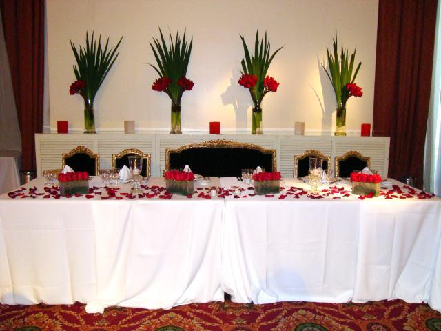 Decoracion de bodas Arreglos para boda en salon