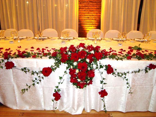Flores para hoteles flores para eventos - Decoracion floral para bodas ...