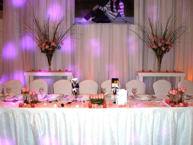 de mesa en venta ambientacion y decoracion de salones con flores ...