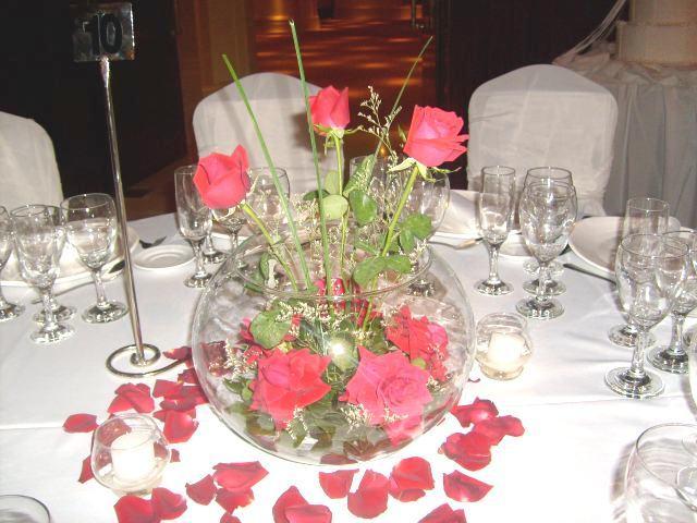 decoracion de casamientos con flores venta de centros de mesa para