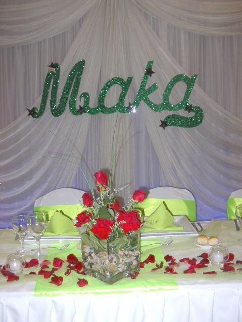 Para decoracion y ambientacion de bodas precio del centro - Precios de centros de mesa para boda ...