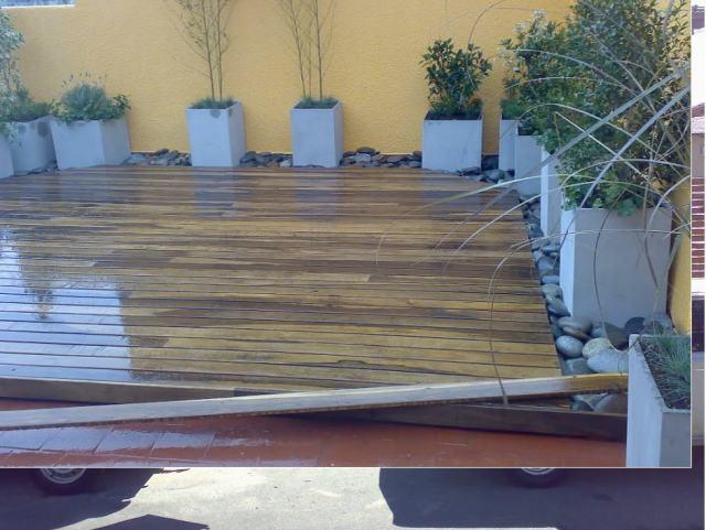 Fabrica de decks colocacion de decks for Pisos de madera para exteriores precios