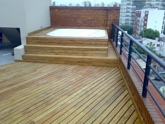 Decks buenos aires y decks for Pisos de madera para exteriores