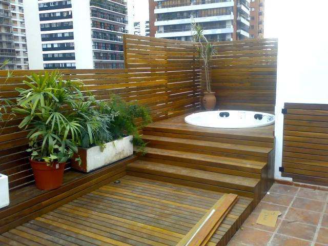 Decks buenos aires y decks for Pisos para balcones y terrazas