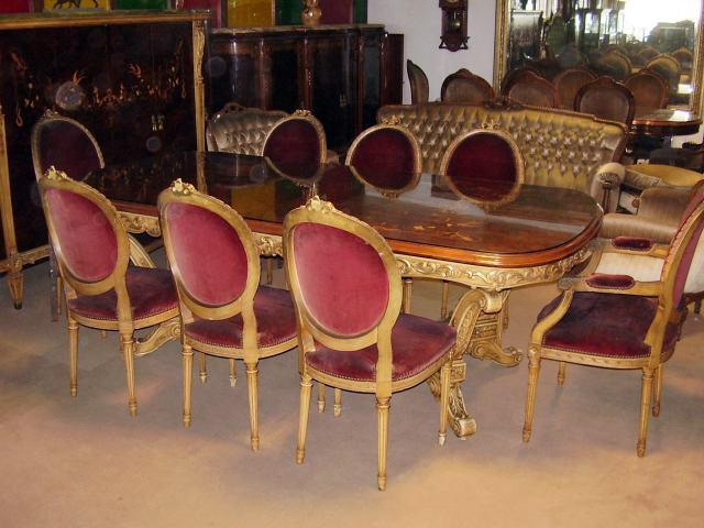 Venta de antiguedades for Estilos de muebles antiguos