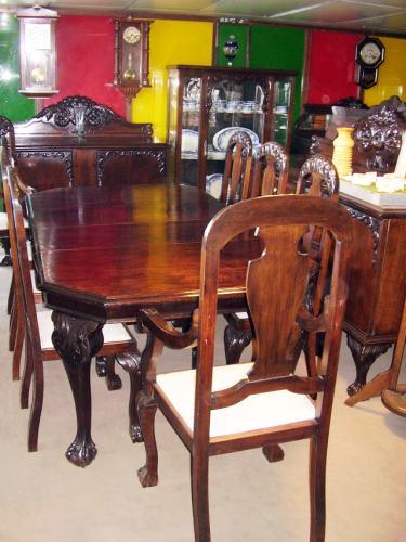 Muebles de comedor antiguos idea creativa della casa e for Muebles de comedor antiguos